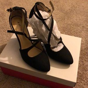 JustFab Cesilia Black shoes